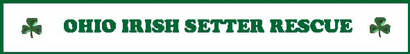 Ohio Irish Setter Rescue